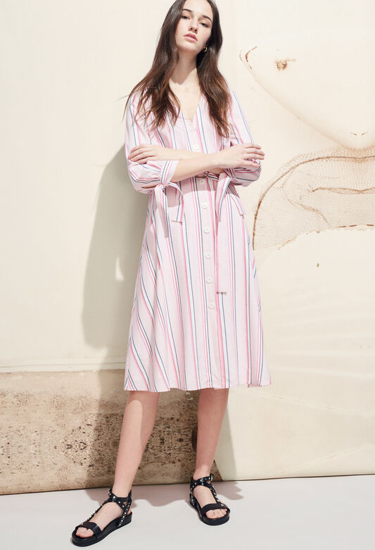 RAISSA : Kleider farbe ROSE