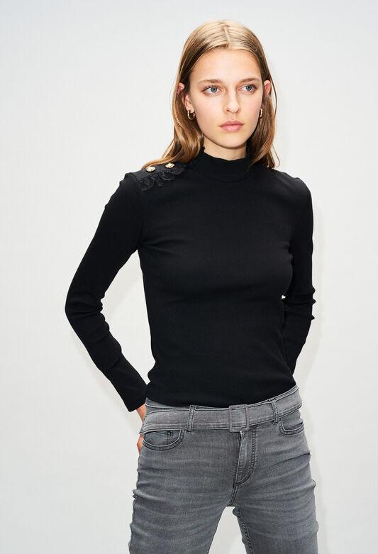 TRICHH19 : T-Shirts farbe NOIR