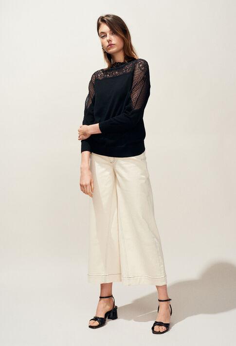 MANHATTAN : Strick & Sweatshirts farbe Noir