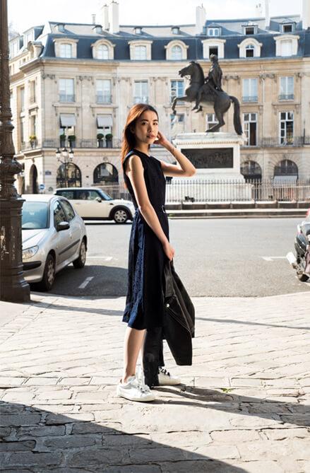 Kleid Rajah - Blouson Castel - Turnschuhe  Angelique