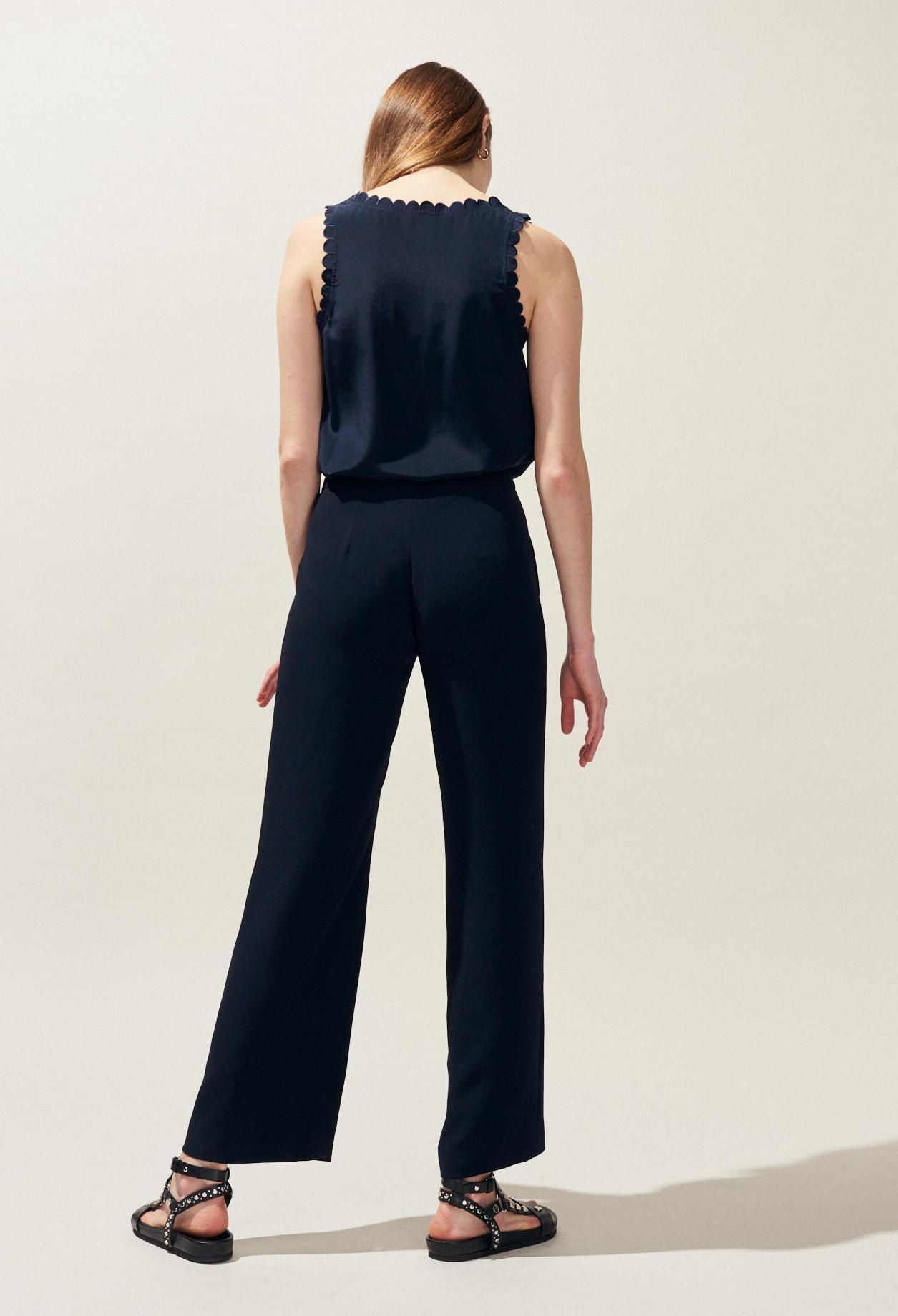 9455dcac5525a ... POURPRE : Pantalons et Jeans couleur Marine ...