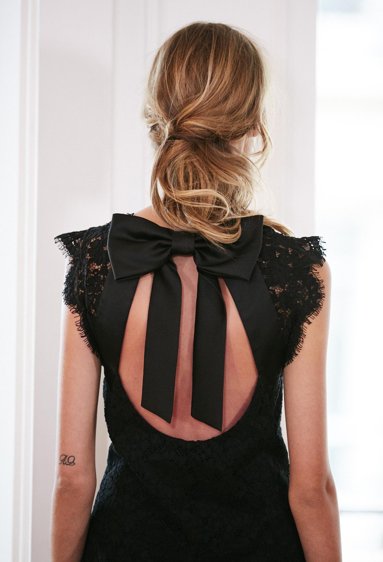 Kleid schwarz 92